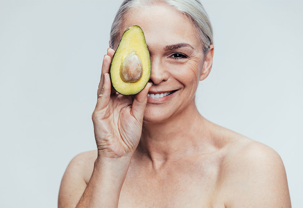 Lady With Avocado