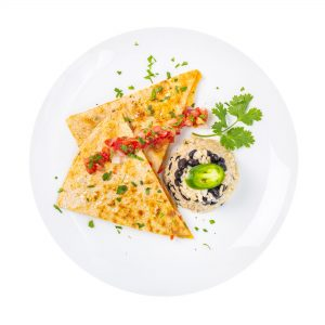 Grilled Vegetable Quesadilla