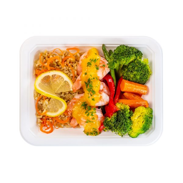 Sauteed Shrimp Meal